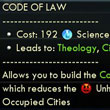 First version of my Code of Laws mod for Civilization V is now available!
