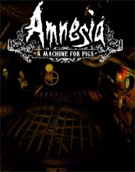 Amnesia: a Machine for Pigs - title screen
