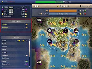 Civilization IV - trade panel