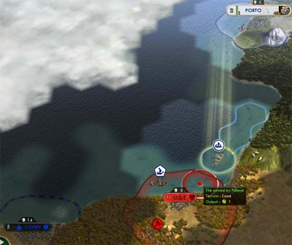 Civilization V: Brave new World - can't protect trade routes