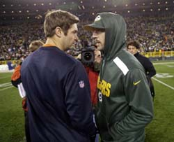 Bears 27 - Packers 20: Cutler and Rodgers