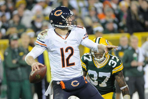Bears 27 - Packers 20: Josh McCown