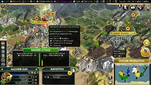 Civilization V: Brave new World - attack a city