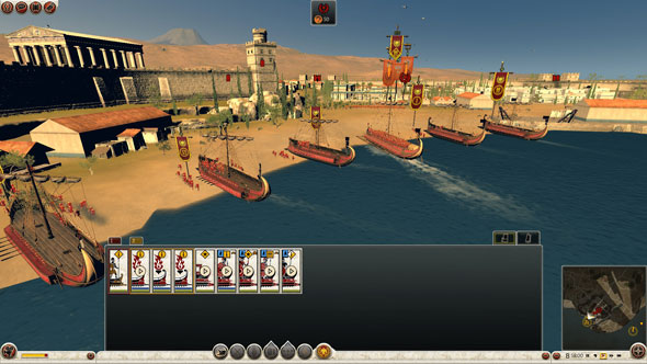 Total War Rome II: amphibious engagements