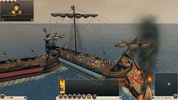 Total War Rome II: naval units feel broken
