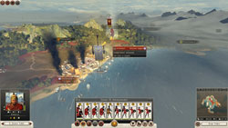 Total War Rome II: armies cannot invade cities that are blockaded