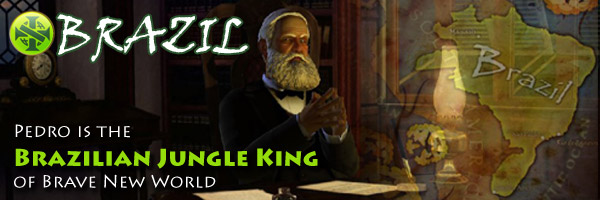 Civilization V Brave New World - Pedro II of Brazil