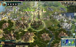 Civilization V: Brave new World - Foreign Legion upgraded to Pracinha