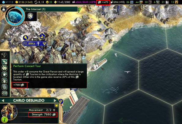 Civilization V: Brave new World - concert tour after carnival