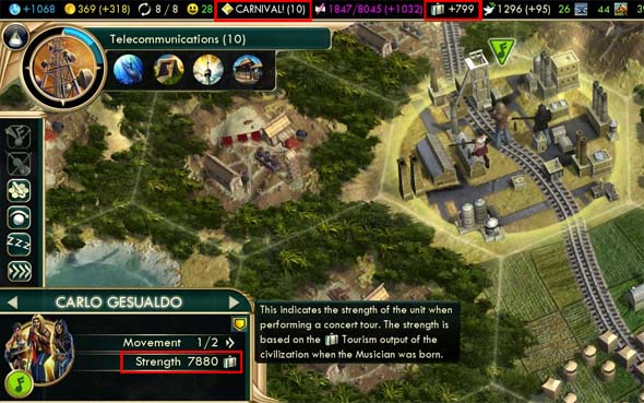 Civilization V: Brave new World - Brazilian carnival musician