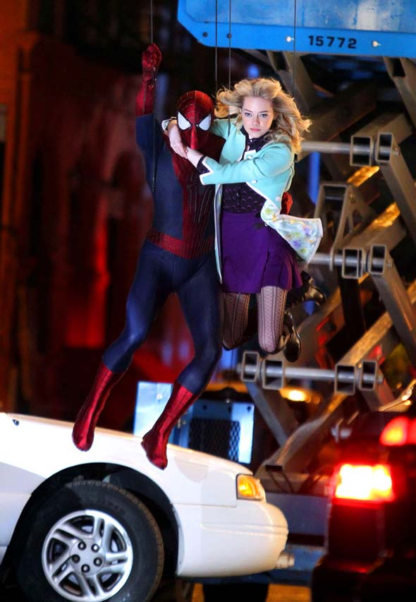 Amazing Spider-Man 2 - Gwen Stacy's clothing
