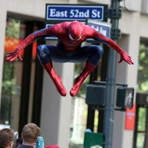 Amazing Spider-Man 2 - set photo