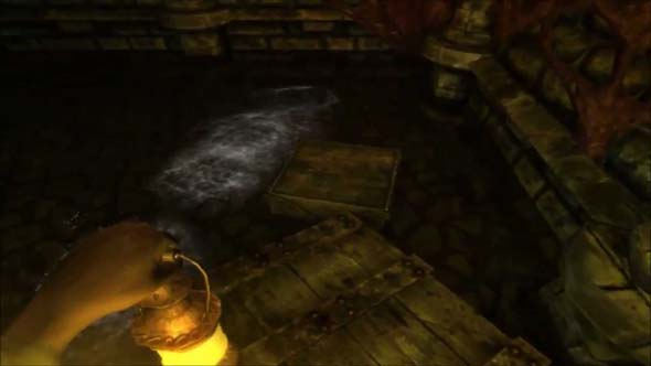 Amnesia: the Dark Descent - invisible water monster