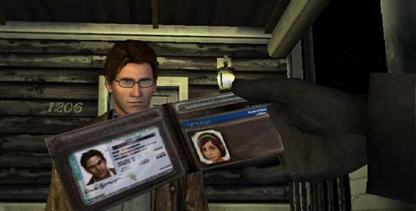 Silent Hill Shattered Memories - Harry's wallet