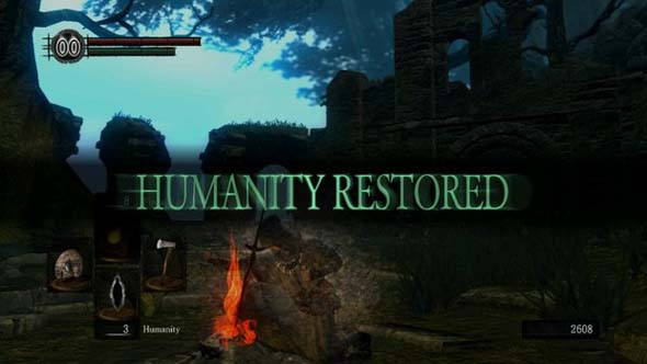 Dark Souls - Reviving to Human