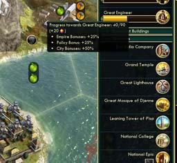 Civilization V - Indonesian Great Person generation