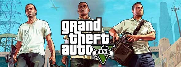Grand Theft Auto V - title