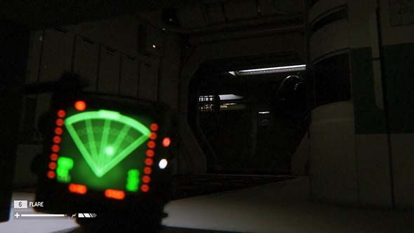 Alien Isolation - hiding