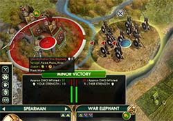 Civilization V - War Elephant not vulnerable to spears