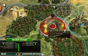 Civilization V - assimilating barbarians 1