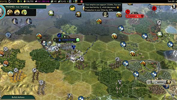 Civilization V - German unit cap 2