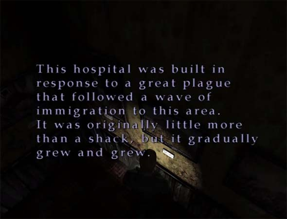 Silent Hill 2 - historical society