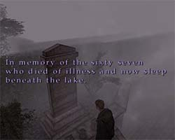 Silent Hill 2 - Rosewater epidemic memorial