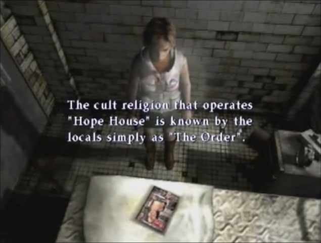 Regarding Silent Hill S Cult Name The Order Mega Bears Fan