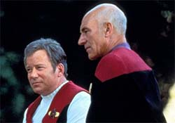 Star Trek Generations - Kirk with Picard