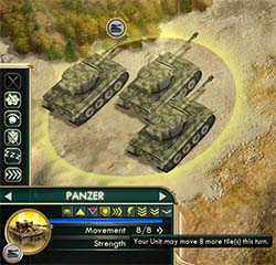 Civilization V - Panzer with 8 movement
