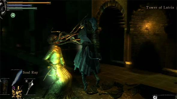 Demon's Souls - Mindflayer stun attack