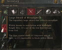 Demon's Souls - item description