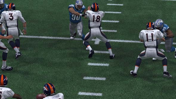 Madden '15 - line of QBs