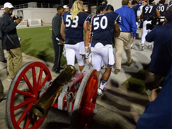 Nevada takes the Freemont Cannon