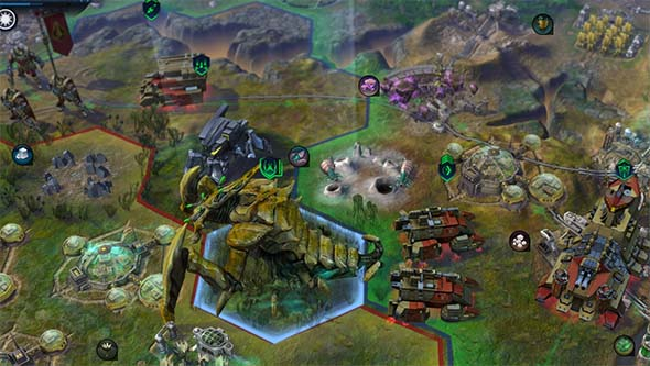 Civilization: Beyond Earth - affinity units