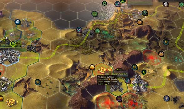 Civilization: Beyond Earth - miasma