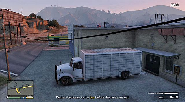 Grand Theft Auto V - delivery mission