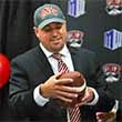 UNLV hires Bishop Gorman's Tony Sanchez as its new football head coach