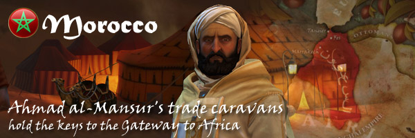 Civilization V Brave New World - Ahmad al-Mansur of Morocco