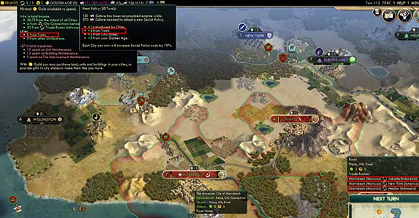 Civilization V - duplicate trade routes from Morocco