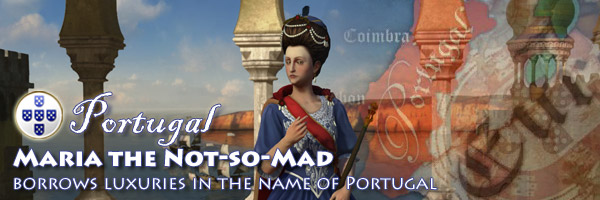Civilization V - Maria I of Portugal