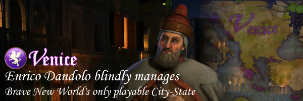 Civilization V - Enrico Dandolo of Venice