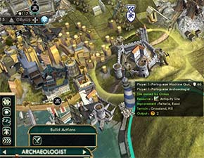 Civilization V - Feitoria built on Antiquity Site