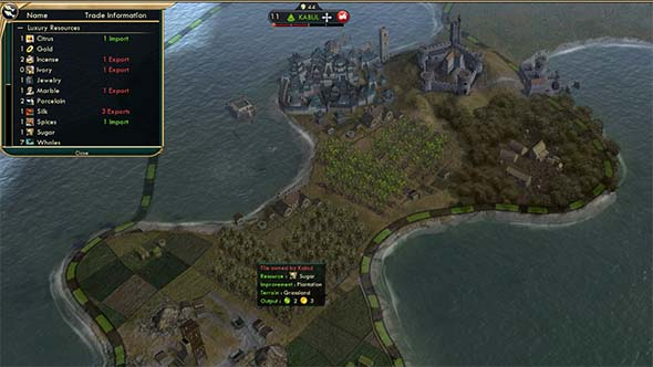 Civilization V - Feitoria providing luxury even when at war