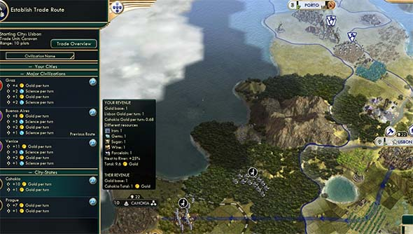 Civilization V - Mare Clausum works with Mercantile luxuries