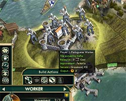 Civilization V - Feitoria built on coal