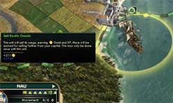 Civilization V - captured Nau