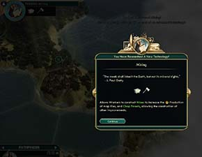 Civilization V - get that tech from ruin
