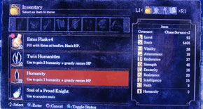 Dark Souls Artorias of the Abyss - Humanity farming