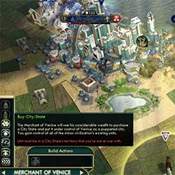 Civilization V - Venice cannot purchase CS while at war